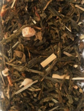 Chá Verde Ananás - Jengibre - Alcaçuz - Blend