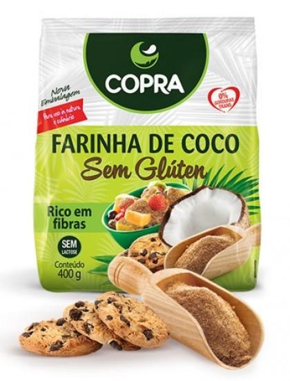 Farinha de Côco - 100% Natural