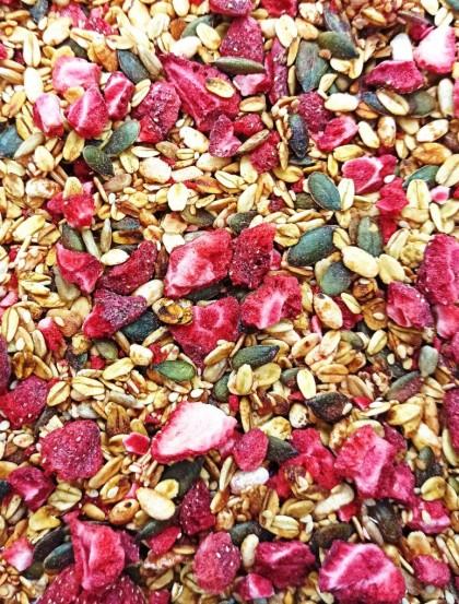 Granola Tradicional Morango - 100% Natural