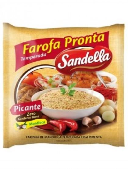 Farofa Pronta Temperada Picante - Farinha