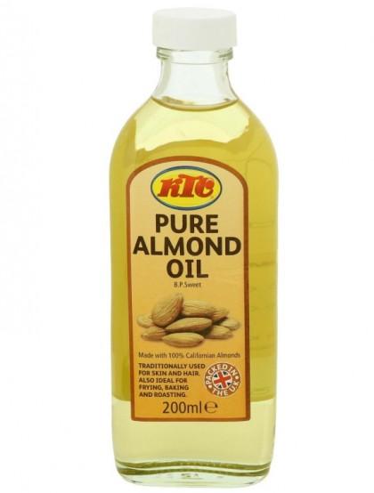 Óleo de Amêndoas - 100% Natural