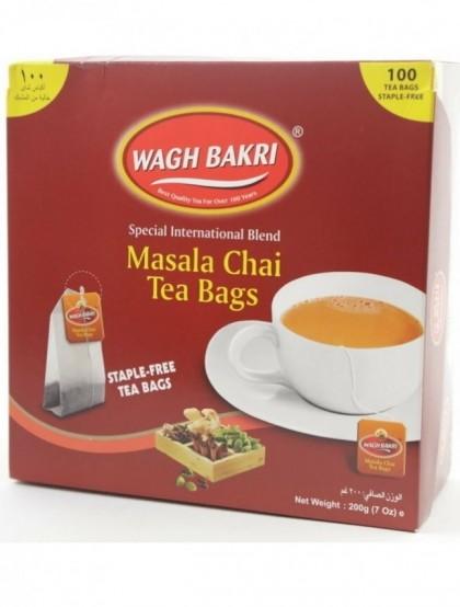 Chá Masala Chai Spiced Tea - Cx. 100 Saquetas